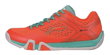 AYTM039-2 Badminton Schuh Flash X Men Orange Gr.39 2/3  -US 7  -245