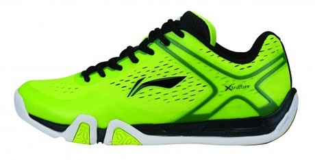 AYTM039-3 Badminton Schuh Flash X Men Yellow Gr.41 2/3  -US 8,5  -260