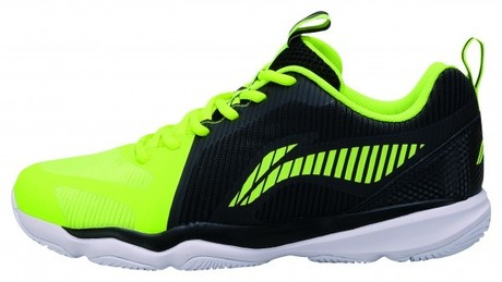 AYTN053-2 Li-Ning Badmintonschuh Ranger TD Men BlackYellow EU43 2/2- UK9- US10- 275mm
